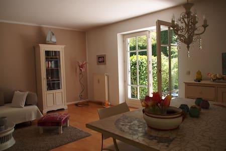 Idyllische Gartenwohnung Ammersee - Utting am Ammersee - Appartement