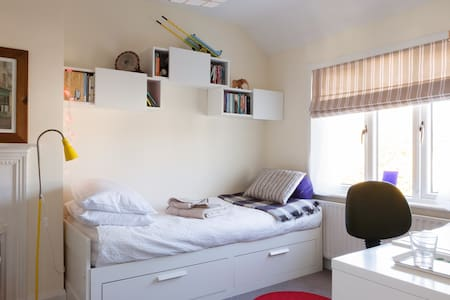 Light filled  room with work desk - Dublin - Bed & Breakfast