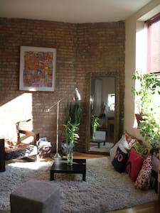 Authentic & Artistic Brooklyn Loft.