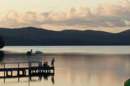 Hillview- views over Wallis Lake - House