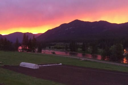 Gorgeous views of the Clark Fork River - Apartment