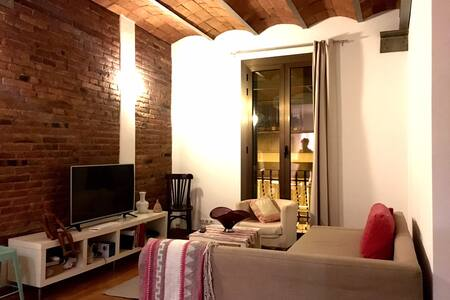 Excellent Room in Poble Sec - Barcelone - Appartement