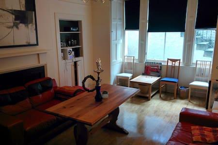 Central Flat rooms in Edinburgh - Edimburgo - Appartamento