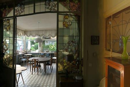 Papillon doré est le thème de la chambre double - Guesthouse