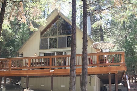 Chalet Cabin at Pine Mountain Lake - 格羅夫蘭(Groveland)