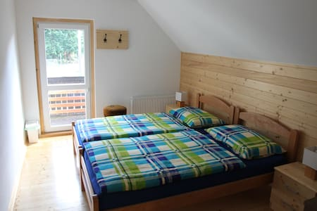 Sobe v Gozdu 2 (Rooms in the Forest) - Twin Bed - Gozd Martuljek - House
