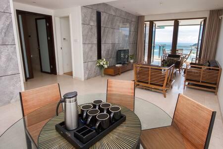 大东海半山半岛超豪华海景双卧套房 - Appartement en résidence