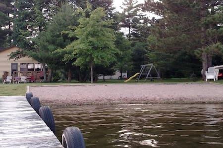 Relax on Big St Germain Lake...4 season cabin - Saint Germain