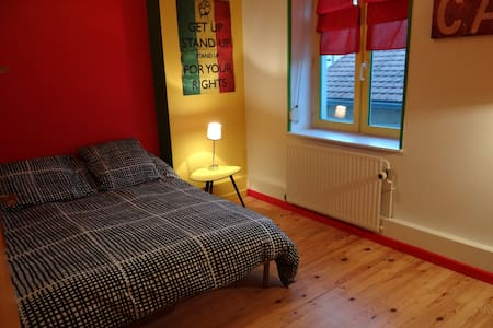 La chambre verte centre ville - Bed & Breakfast