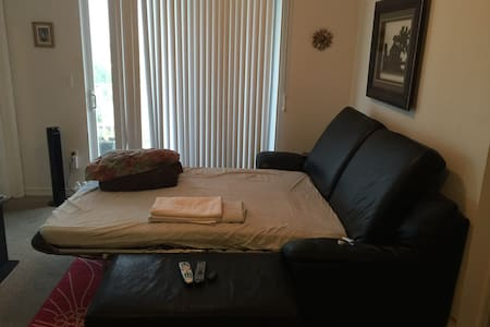 Fullsize sofa-bed in nice apartment - Miami - Apartment