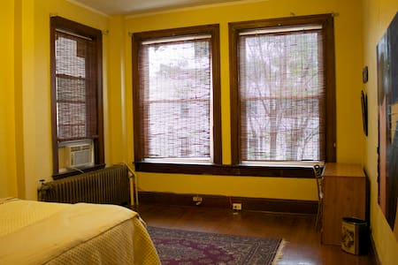 Sunny, friendly room in Charles Village - Baltimore - Apartment