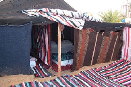 Berber Tent in Erg Chebbi Merzouga - Tält