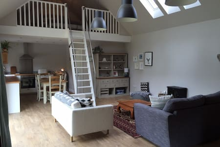 Beautiful Scandi style cottage close to Edinburgh - Dom