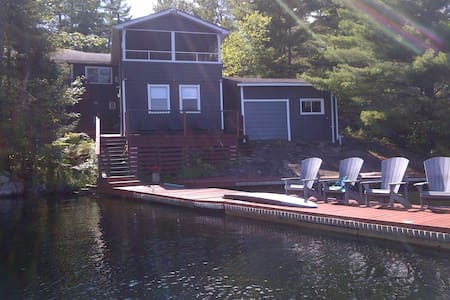 Six Mile Lake Cottage on Waterfront - Port Severn - Chatka