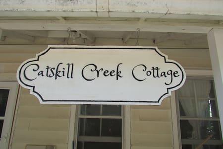 Catskill Creek Cottage-down - Durham - Apartamento