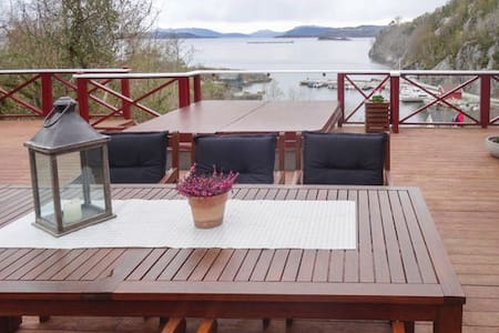 Vacation rental - Fogn, Norway Only 80m from fjord - Fogn - Chalet