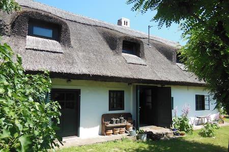 Köveskáli nádtetős családi ház - Huis