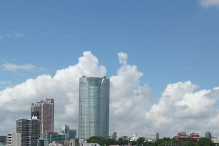 central Tokyo,nice view,pocket-wifi
