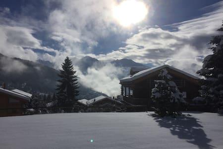 Verbier, stunning views