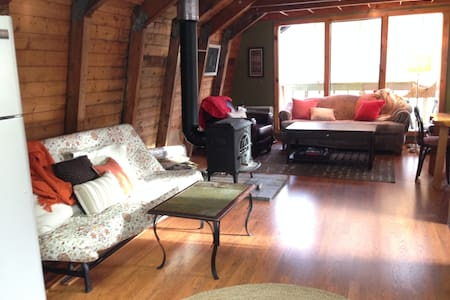 Sleeps 12-14, 7m South of the Loaf w/WiFi& laundry - Carrabassett Valley