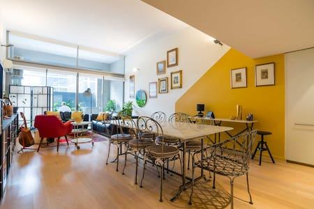Sunny NY-style loft apartment - Camperdown - Apartamento
