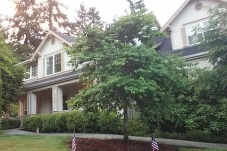 Evergreen State wine country - Woodinville - House