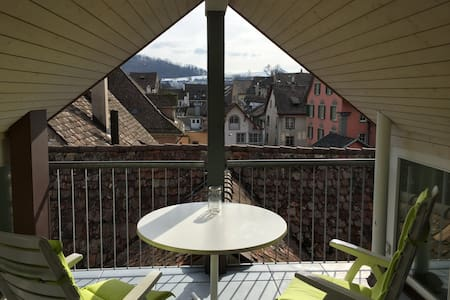 In the center of old town - Schaffhausen