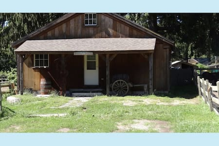 Annie's Place. Cottage on Horse/Animal/Rescue Farm - East Haddam - Cabanya