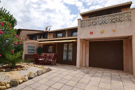 Your Vacation at the Mediterranean Sea - Portiragnes Plage - House