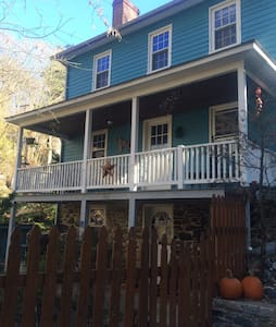 Historic Oella home, Ellicott city - Ellicott City - Casa