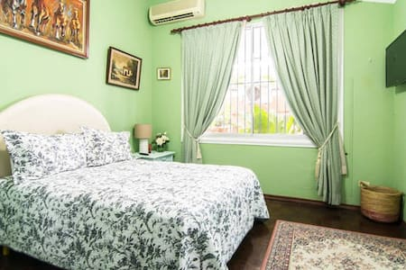 Cozy bedroom in breezy penthouse - Santo. Domingo - Wohnung