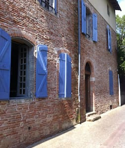 Spacious room in character house with garden - Saint-Sulpice-la-Pointe - Casa