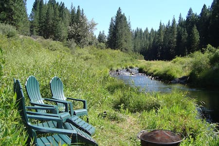 Delightful Cabin with Views of the Feather River - Graeagle - Cabin