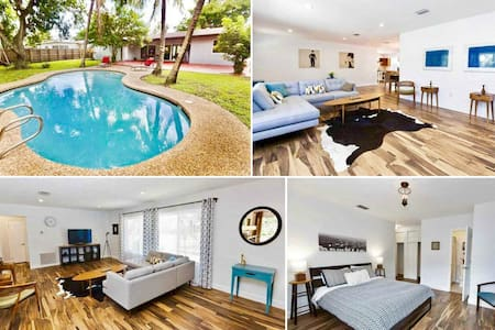 Luxury 4BR Home with a Pool in North Miami Beach - House
