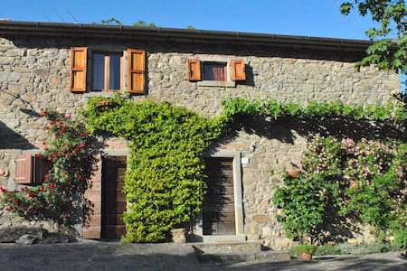 Lovely countryside house in Tuscany - Pratovecchio - Haus