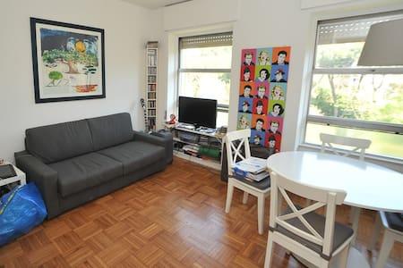 Stunning Studio flat in Rome Eur centre (laghetto) - Lägenhet