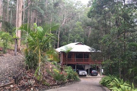Private rainforest hideaway - Mons - Apartment