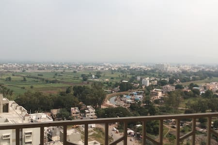21st floor and great view [A+B+C] - Pune - Apartment