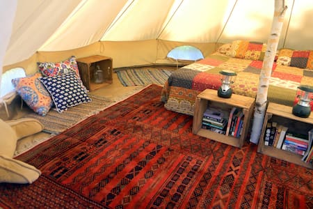 Foxtail Farm Stay: Glamping Site - Greenville - Tent