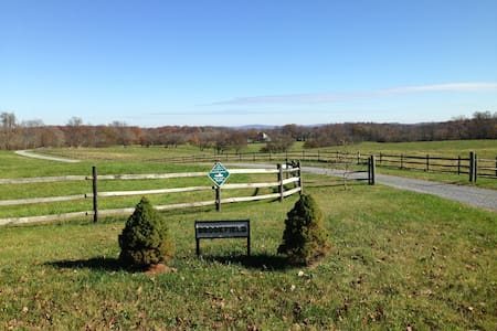 Horse Estate - Near Middleburg - Delaplane - Szoba reggelivel