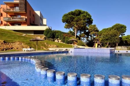 Lux apartament a minute from the beach Sa Boadella - Pis