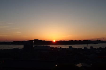 TOUKA/ 灯台下のちいさい隠れ家「灯火」和Dorm3(7min walk fm Station) - Rumah Tamu