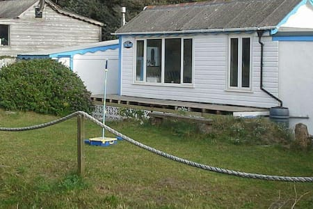 Westpoint, Beautifully Situated Beach Chalet. - Hayle, Cornwall.
