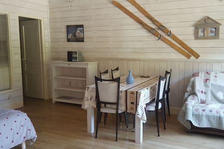 Appartement au rez de chaussée d'un chalet. Aravis - Les Clefs - Appartement