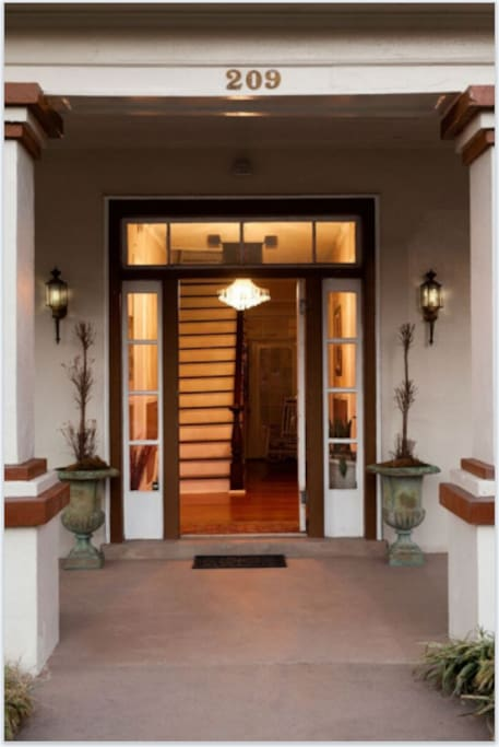 Front Entrance - Yellow Suite - 1st door on the right