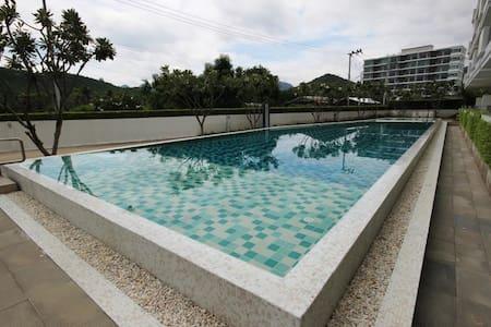 1 BR Condo Sea Condominium Sam Roi Yot Dolphin Bay - Huoneisto