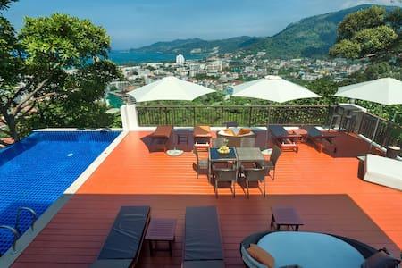 Sunset View Bay Residence XL 42sqm - Tambon Patong - Apartment-Hotel