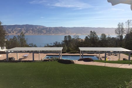 Napa's Lake Berryessa Resort-like Retreat Pool/Spa - Napa - Hus