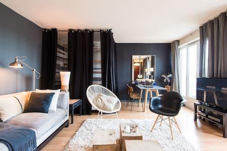 studio 35 m + terrasse  Vieux lille - Appartamento