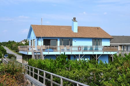 Oceanfront Beach Home - House